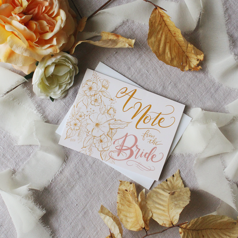 Lily & Val – Unique and pretty wedding guestbook, decor, vow books