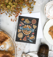 Happy Pie Season - A2 Note Card