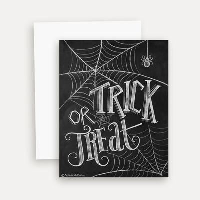 Halloween Trick or Treat - A2 Note Card
