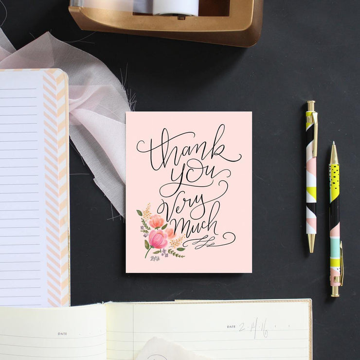Thank You Very Much - A2 Note Card