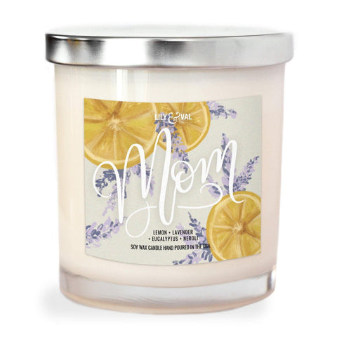 "Limited Edition ""Mom"" Soy Wax Candle"