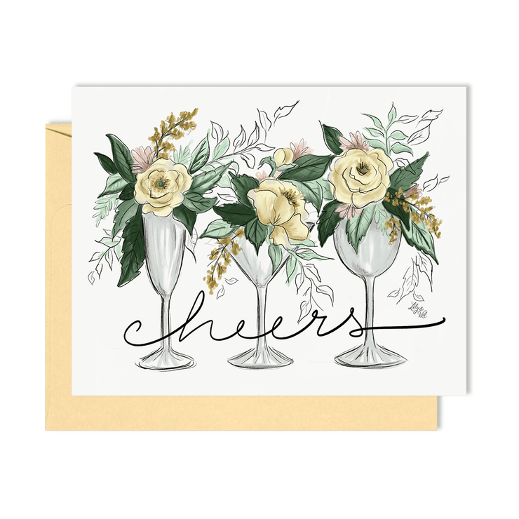 Cheers - A2 Note Card