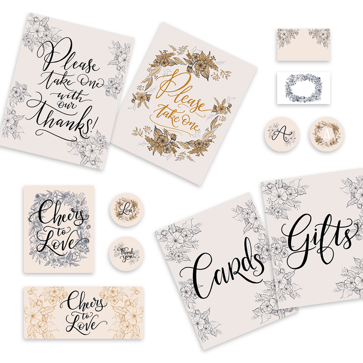 Wedding Digital Download Bundle