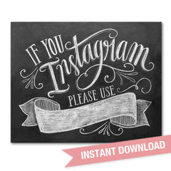 If You Instagram - Digital Download