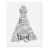 Proverbs 31 A-Line Dress Figure - Print