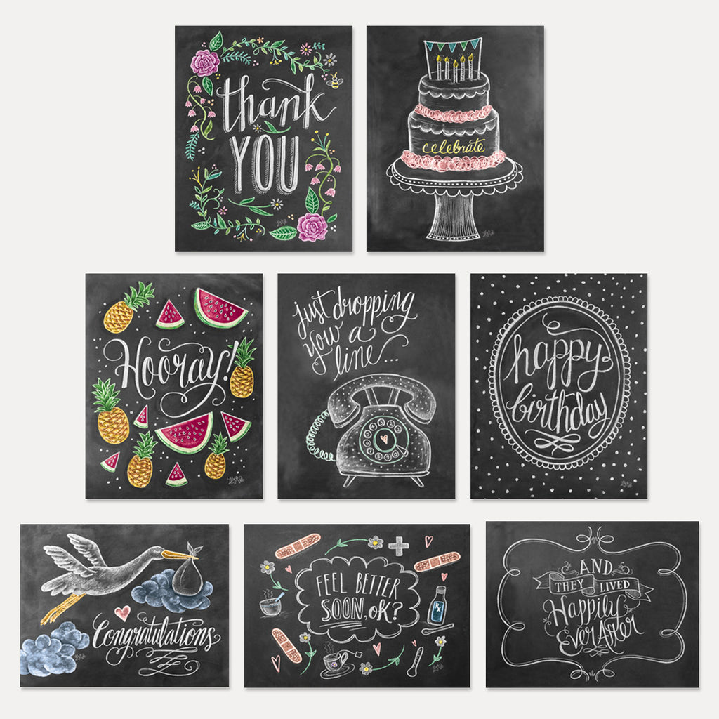Everyday Essentials Note Card Assorted Set