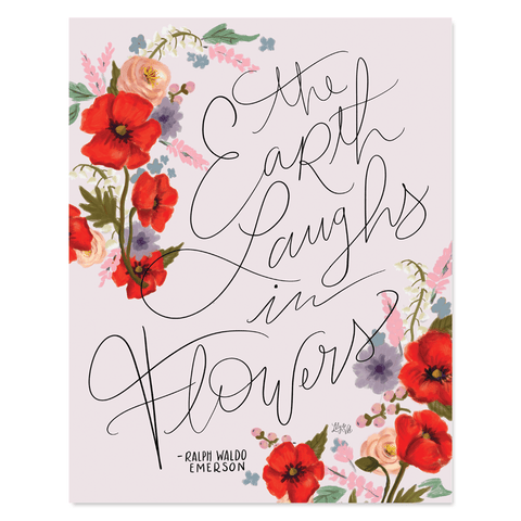 Earth Laughs In Flowers - Print & Canvas