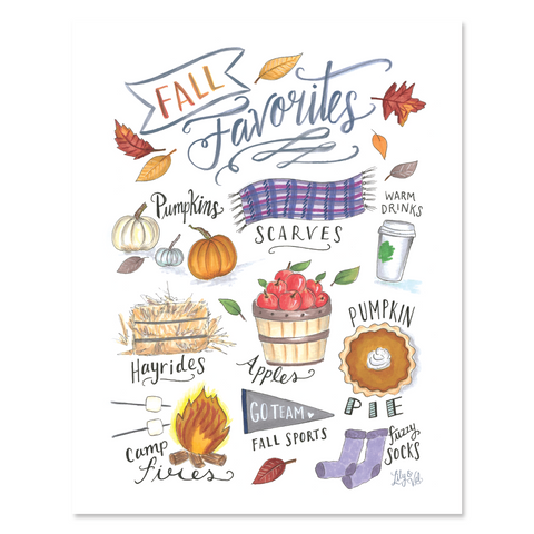 Fall Favorites - Print