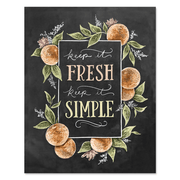 Keep It Fresh Keep It Simple - Print