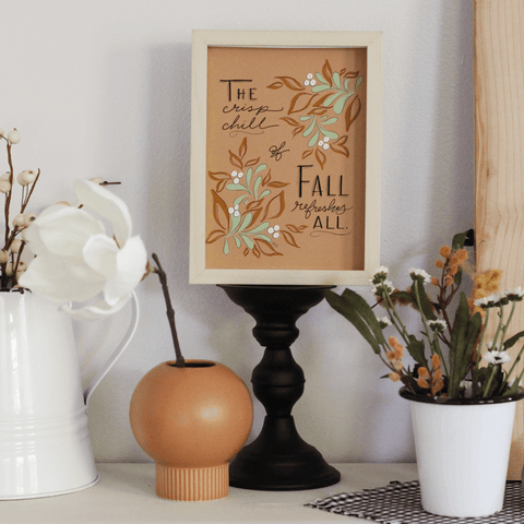 The Crisp Chill of Fall - Print & Canvas