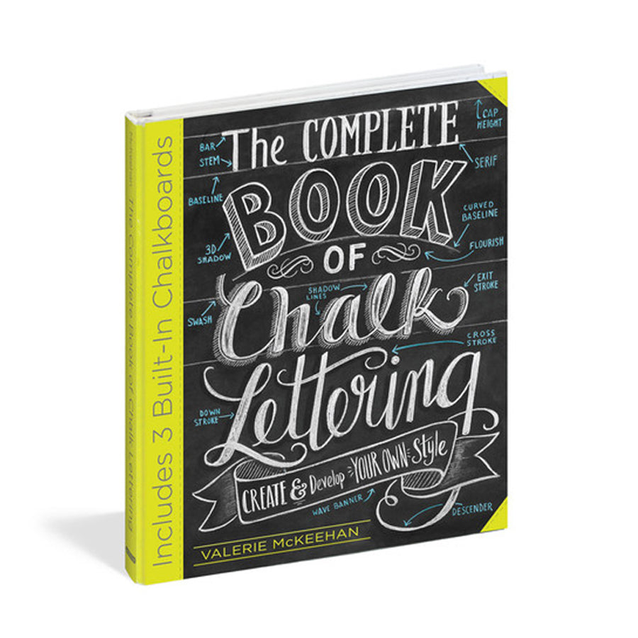 The Complete Book of Chalk Lettering - Signed Copy