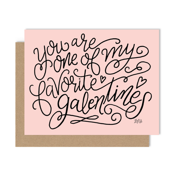 Happy Galentine's Day - A2 Note Card