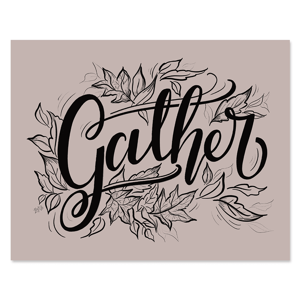 Gather - Print & Canvas