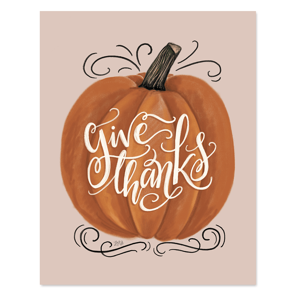 Give Thanks - Print & Canvas