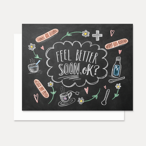 Feel Better Soon  - A2 Note Card
