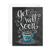 Get Well Soon - A2 Note Card