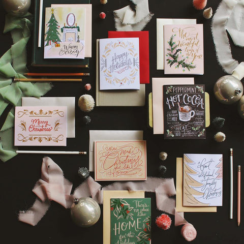 2018 Assorted Holiday Note Card Set