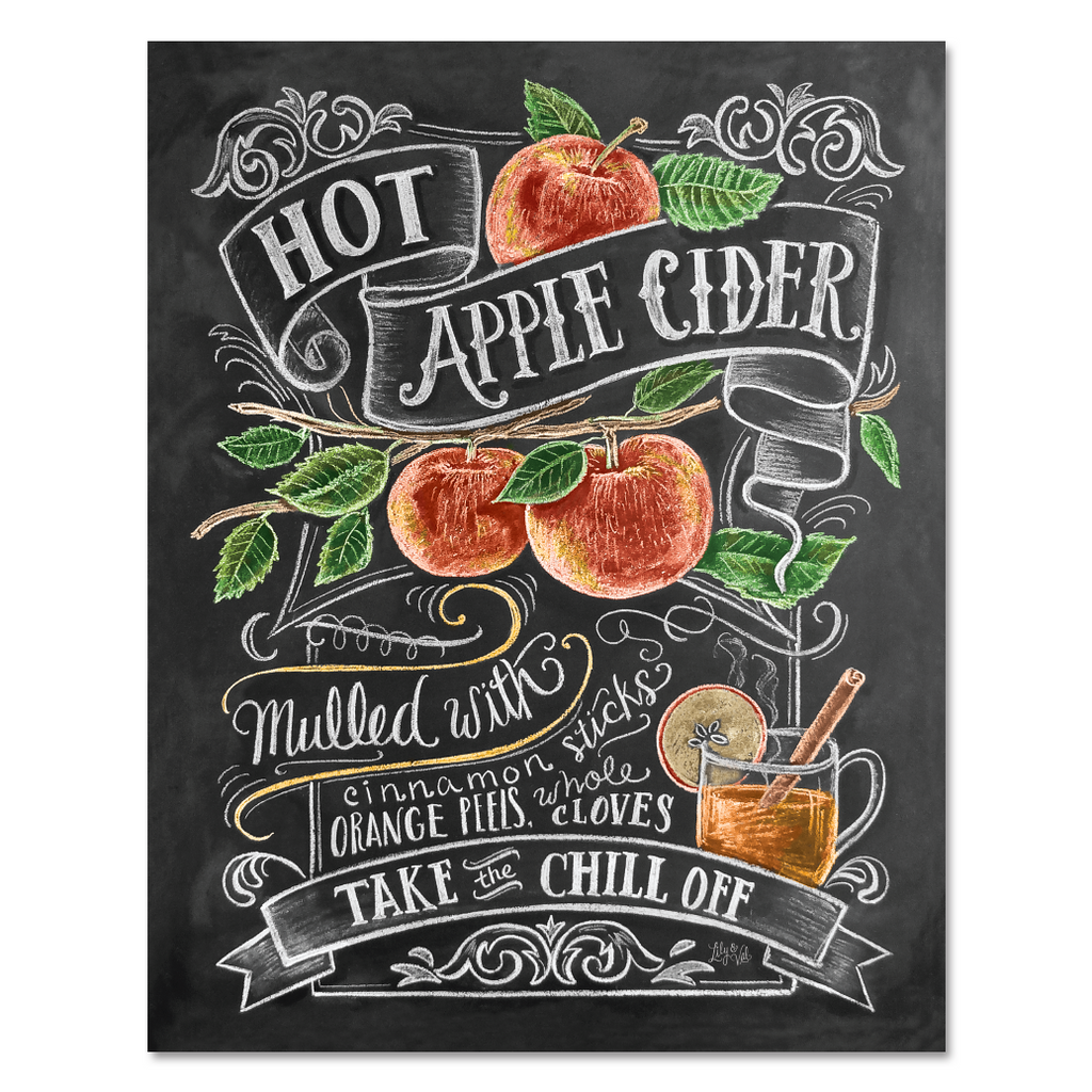 Hot Apple Cider - Print