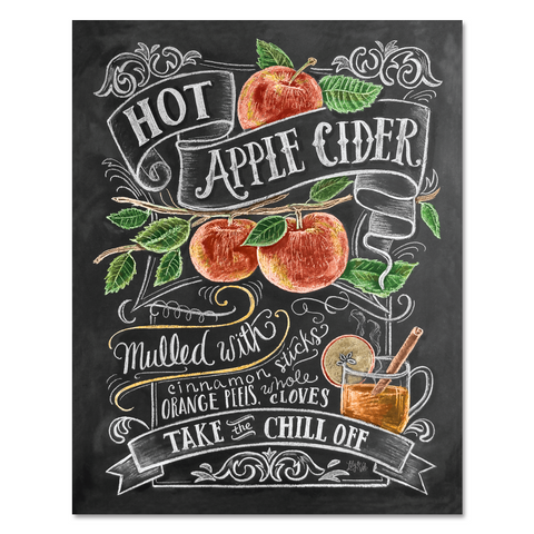 Hot Apple Cider - Print & Canvas