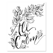 All is Calm - Print