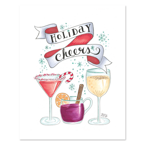 Holiday Cheers - Print & Canvas