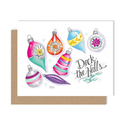 Deck the Halls - A2 Note Card