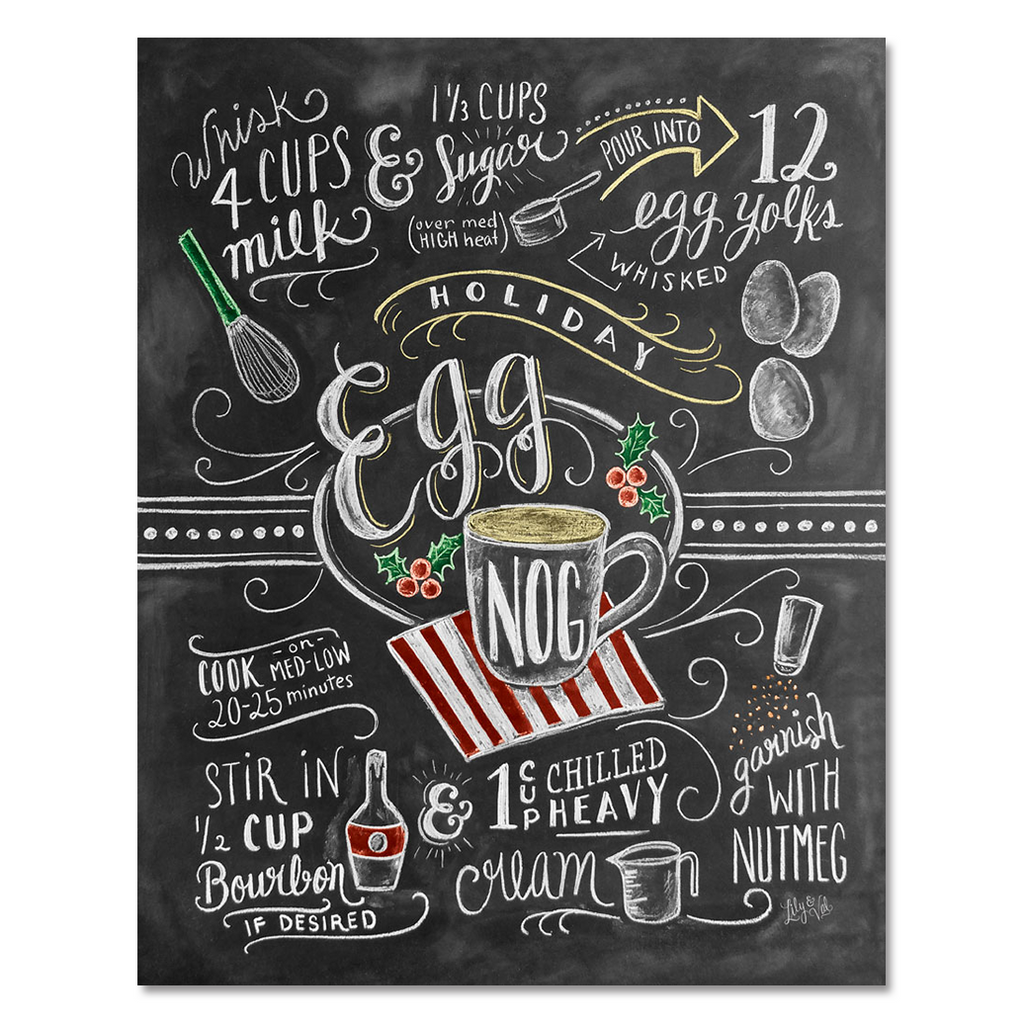 Egg Nog Recipe - Print
