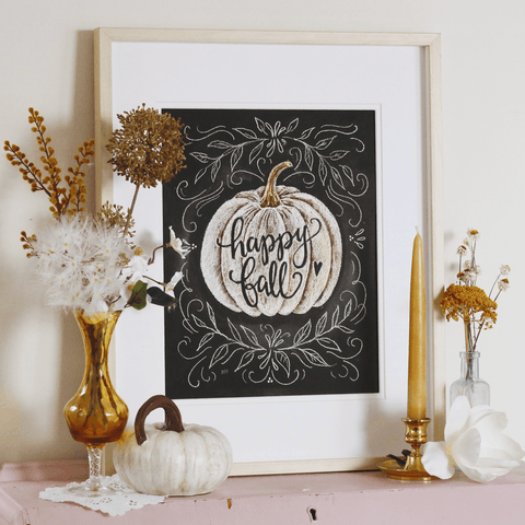 Happy Fall - Print