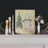 Family Makes Christmas Feel Like Home - Print & Canvas