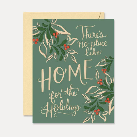 Home For The Holidays - A2 Note Card