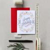 Happy Holidays - A2 Note Card