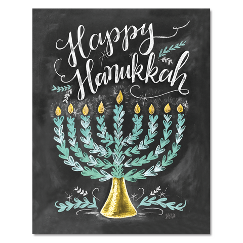 Happy Hanukkah - Print & Canvas