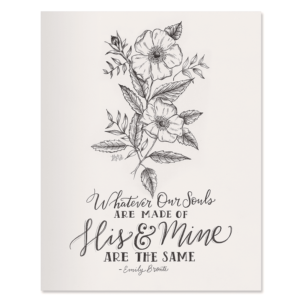His & Mine - Print & Canvas