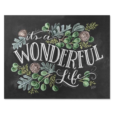 It's A Wonderful Life - Print