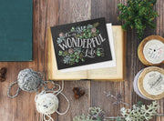 It's A Wonderful Life - A2 Note Card