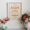 My Heart, My Life - Print & Canvas