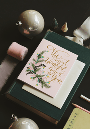 The Most Wonderful Time of The Year - A2 Note Card