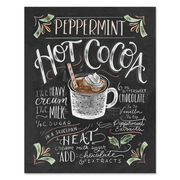 Peppermint Hot Cocoa - Print
