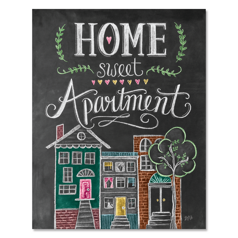 Home Sweet Apartment - Print & Canvas