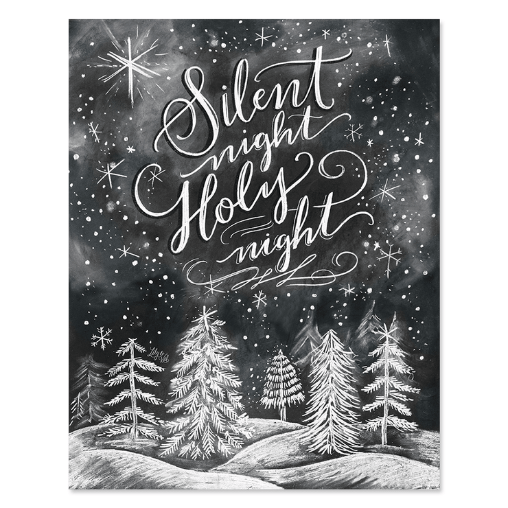 Silent Night, Holy Night - Print