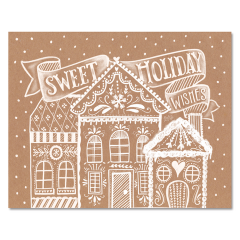 Sweet Holiday Wishes - Print & Canvas