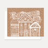Sweet Holiday Wishes - A2 Note Card