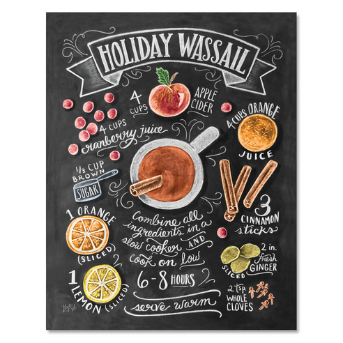 Holiday Wassail Recipe - Print