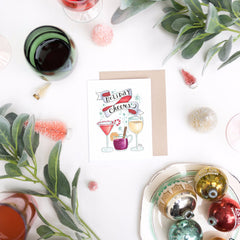 Holiday Cheers - A2 Note Card