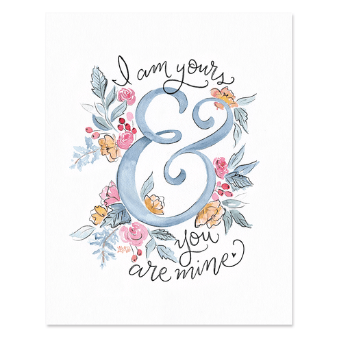 Yours & Mine - Print & Canvas