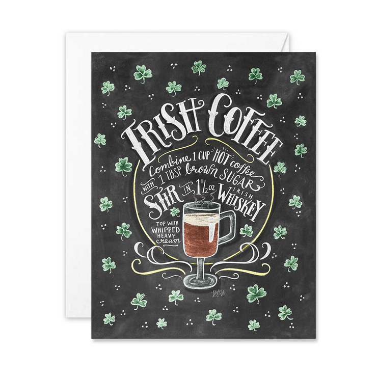 Irish Coffee - A2 Note Card