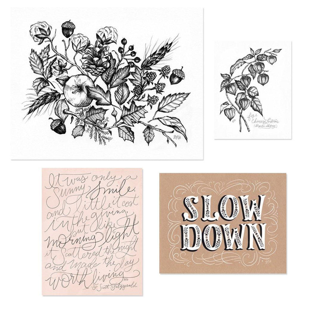 Instant Fall Print Gallery - Slow Down