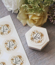 Thank You, Love & Floral Favor Tags - Digital Download