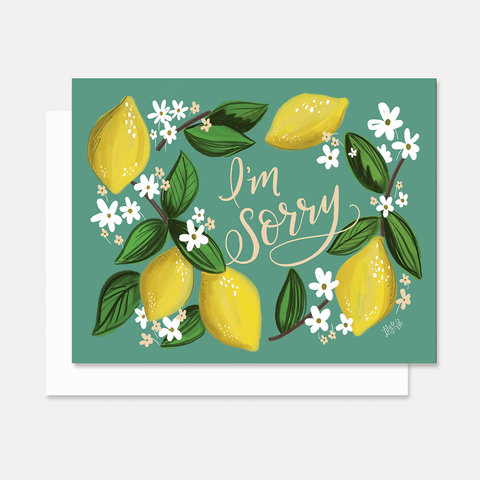 I'm Sorry - A2 Note Card