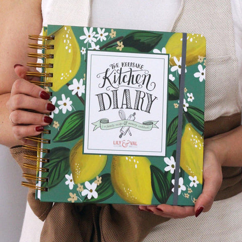 The Keepsake Kitchen Diary™ - Whimsical Lemons